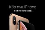 Köp nya iPhone med studentrabatt.