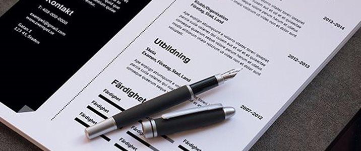 Gör ditt CV personligt