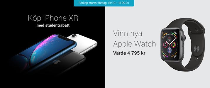 Snart kan du köpa nya iPhone XR med studentrabatt!