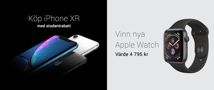 Köp nya iPhone med studentrabatt.