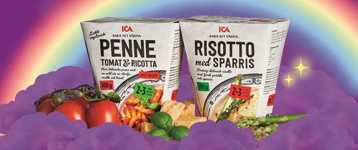 Bli ICA-student och få pasta pronto!