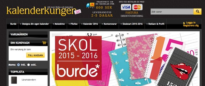 Kalenderkungen.se