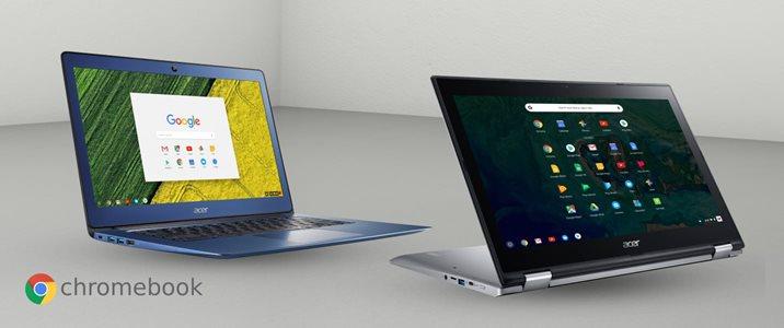 500 kr studentrabatt på Acer Chromebooks