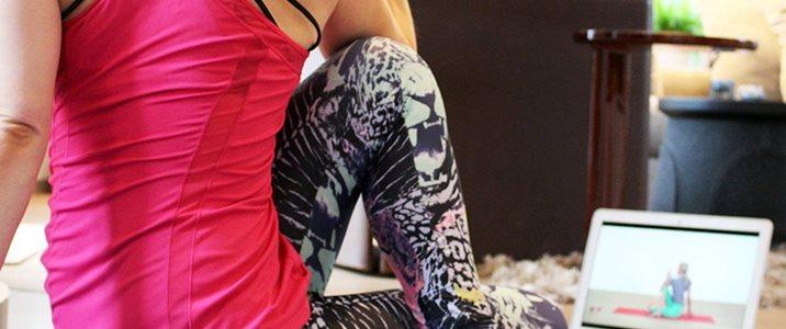 Gratis yoga och träning online